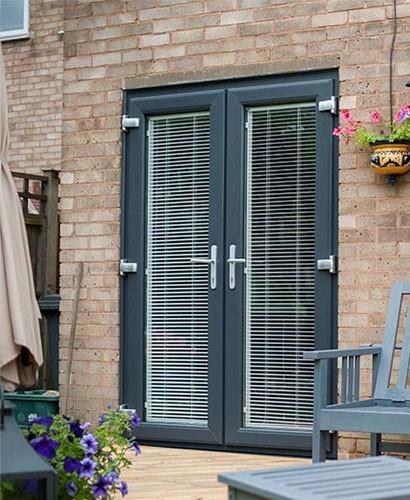 Aluminium Double Doors images
