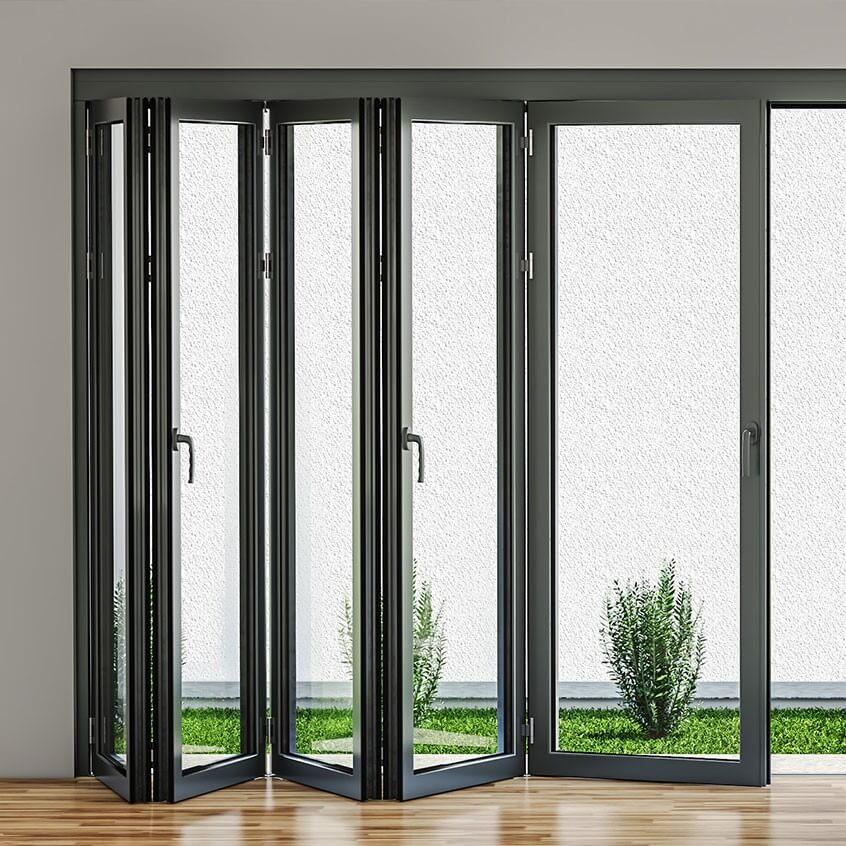 Aluminium Folding Doors models