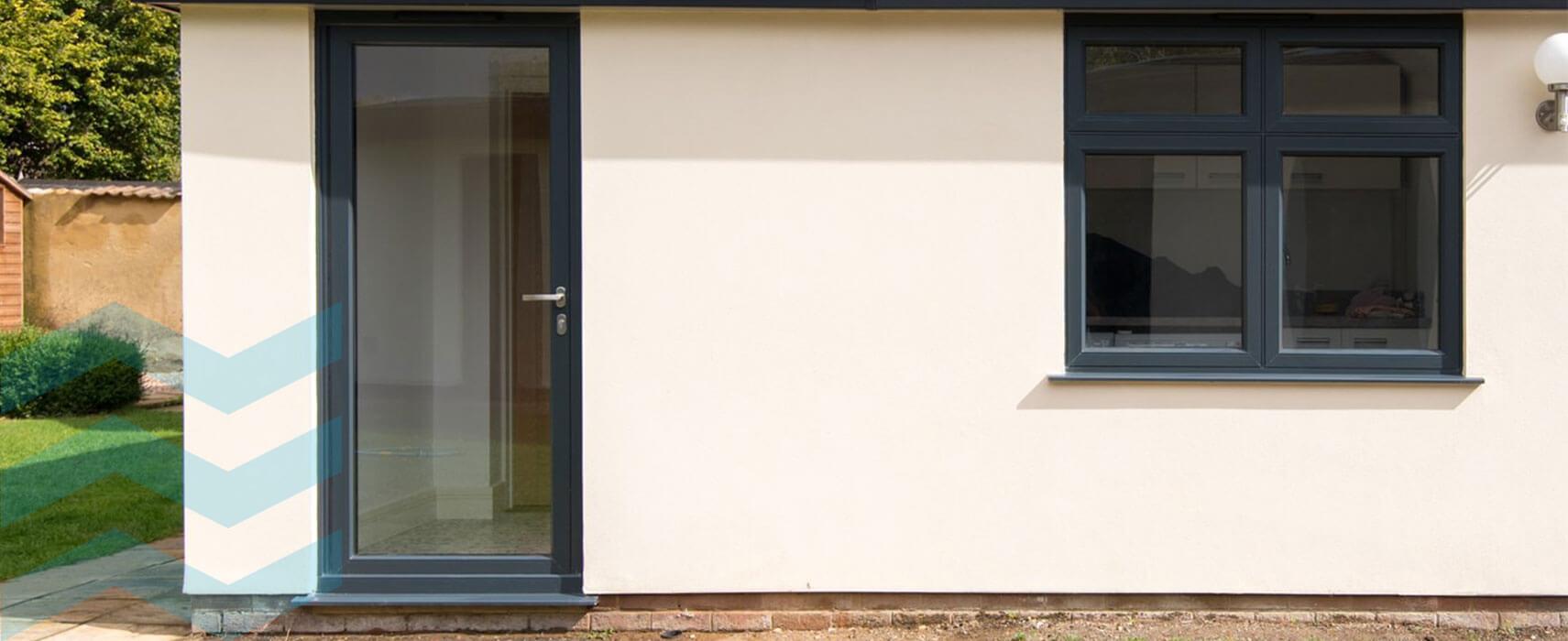 Aluminium Single Doors images