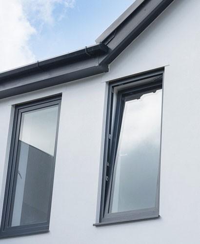 Aluminium Tilt & Turn Windows