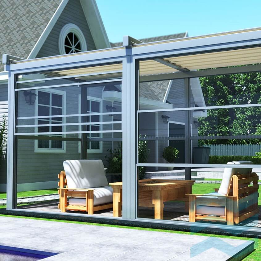 Rolling Roof Shading Systems