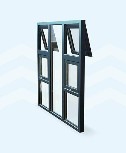 Top Hung Window TH 180x180