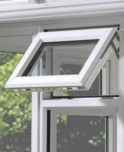 upvc top hung windows princes