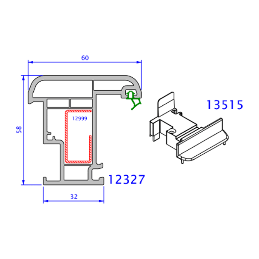upvc window everest max technical drawings 10