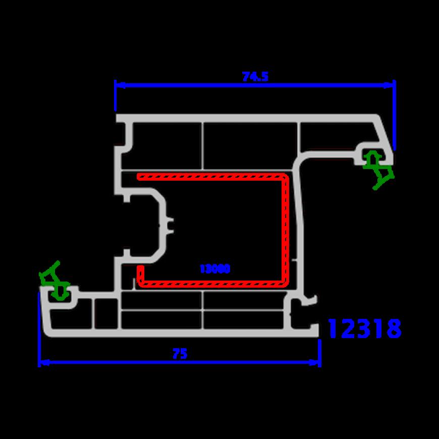 upvc window everest max technical drawings 11