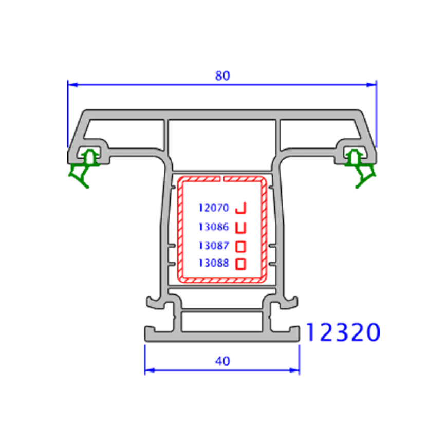 upvc window everest max technical drawings 16