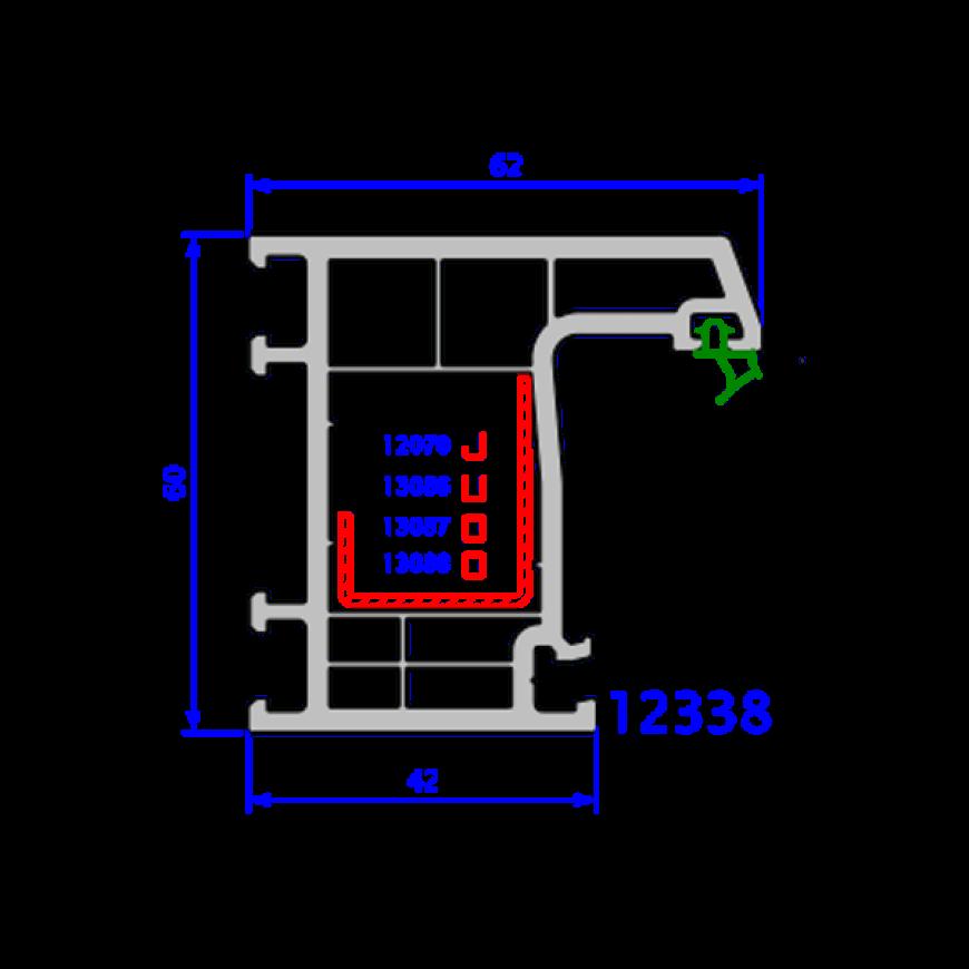 upvc window everest max technical drawings 17