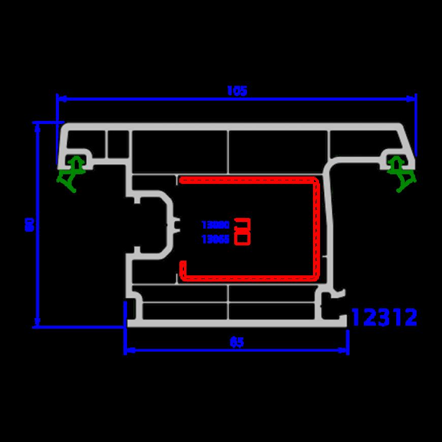upvc window everest max technical drawings 4