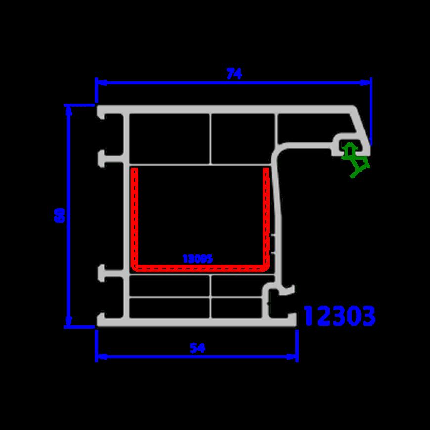 upvc window everest max technical drawings 8