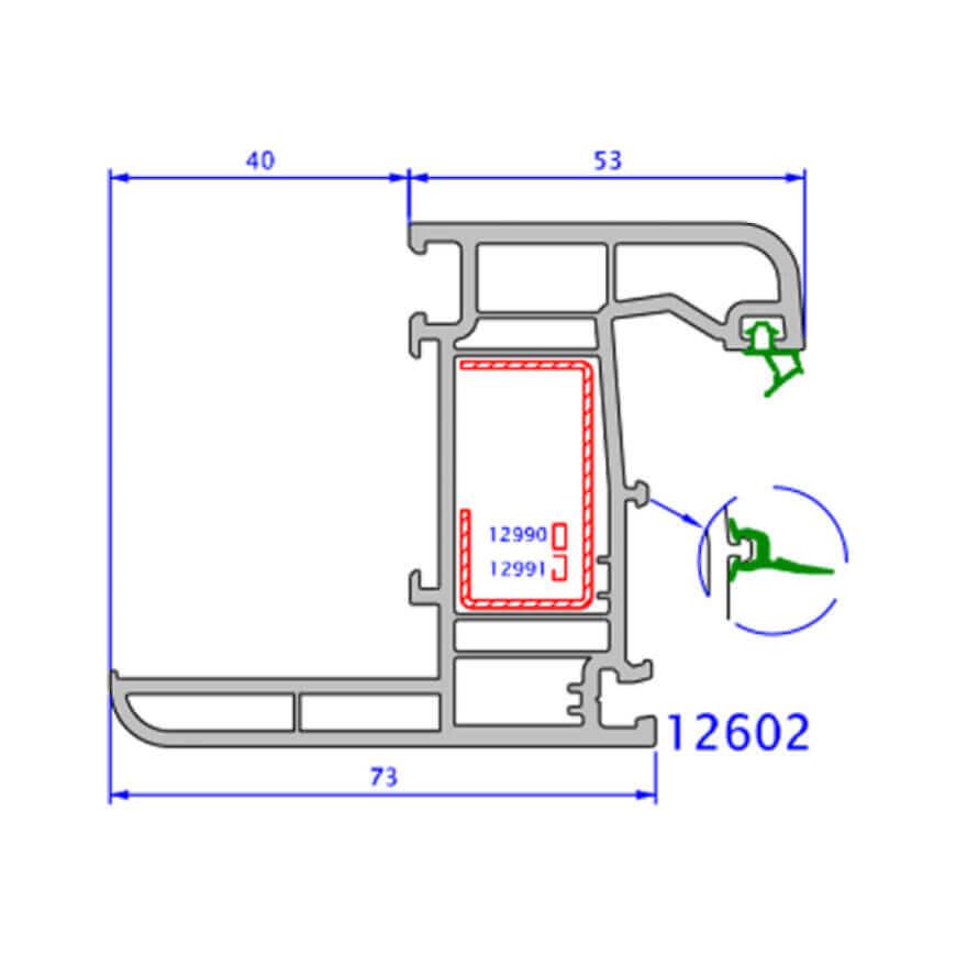 upvc window zendow deluxe technical drawings 1