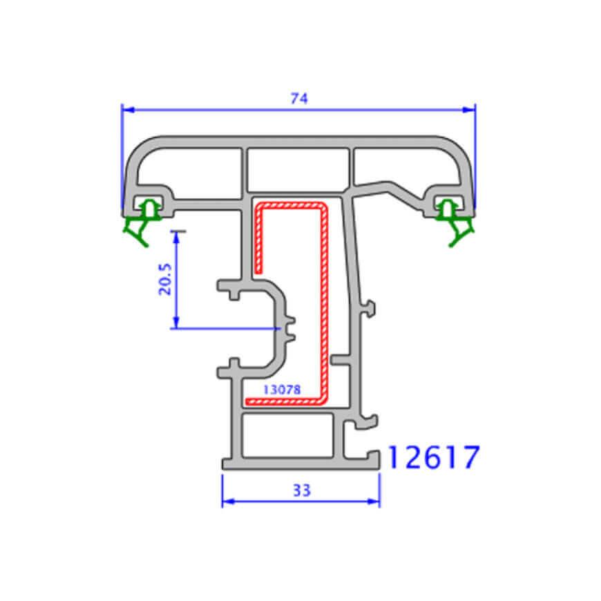 upvc window zendow deluxe technical drawings 10