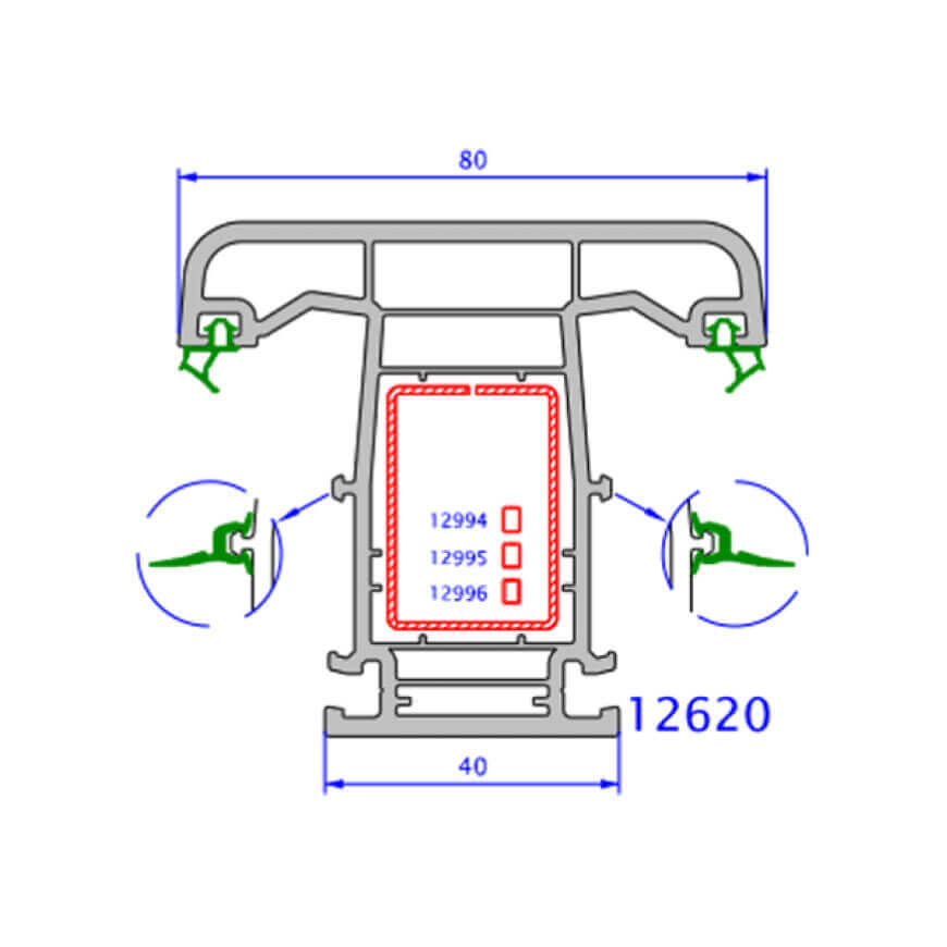 upvc window zendow deluxe technical drawings 2
