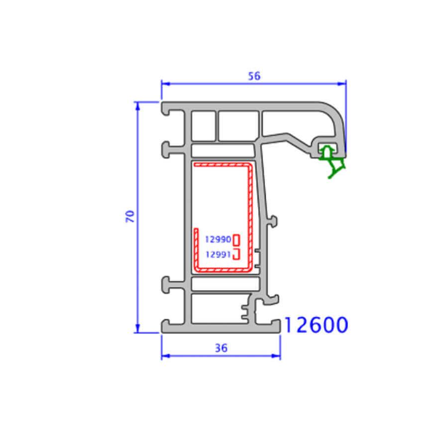 upvc window zendow deluxe technical drawings 7