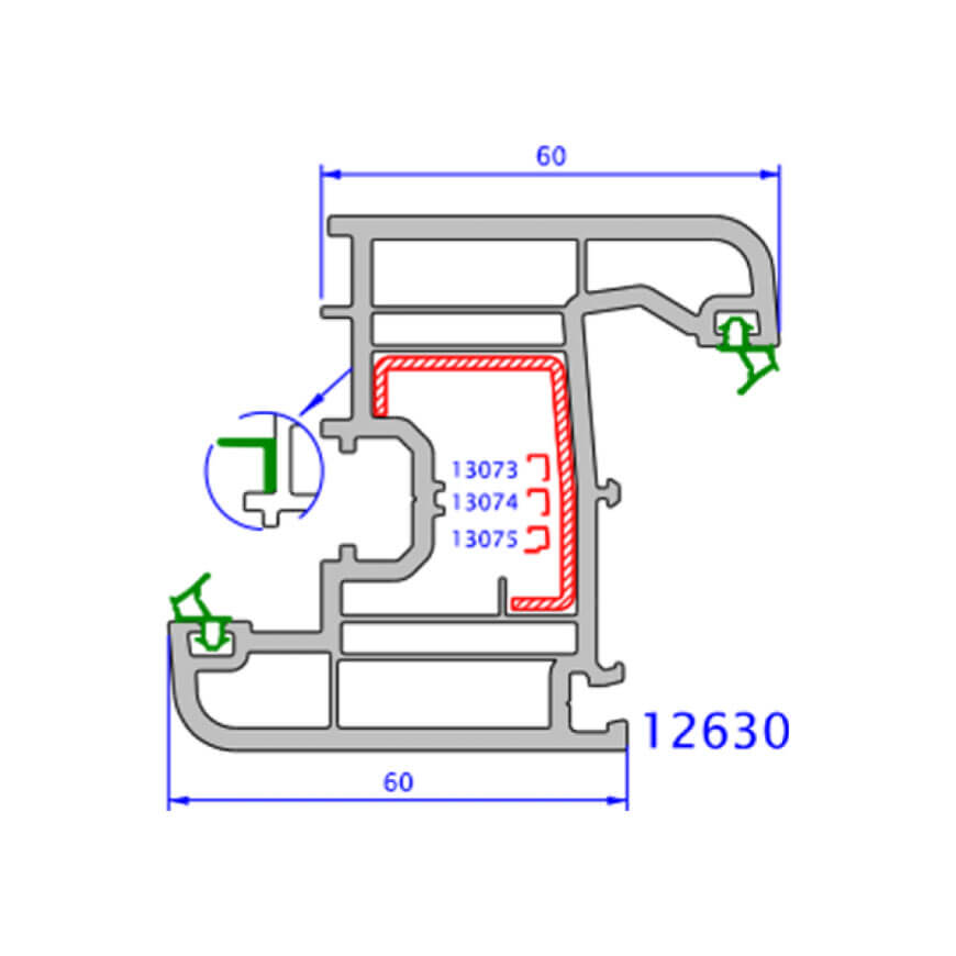 upvc window zendow plus technical drawings 2