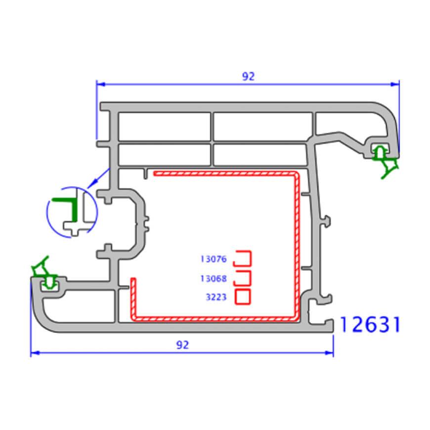 upvc window zendow plus technical drawings 3